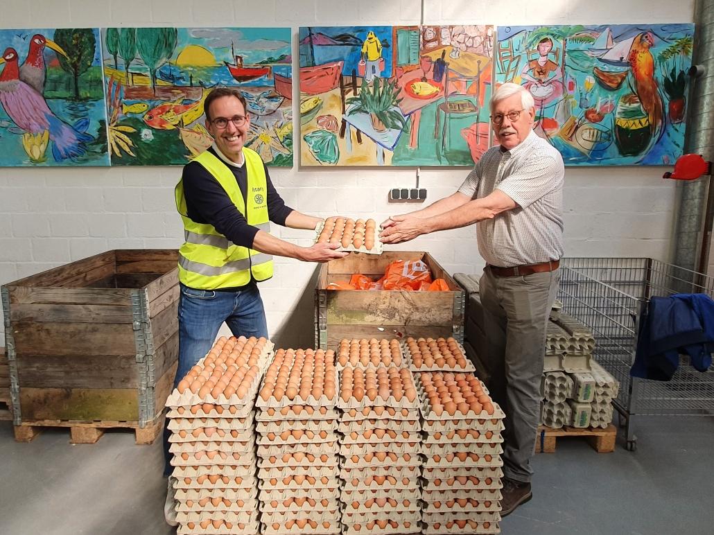 Eierenactie Rotary levert ruim 6.000 euro op